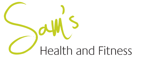 Sam's Health and Fitness logo